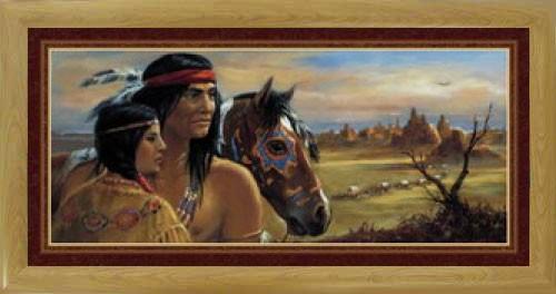 Indianer mit Squaw