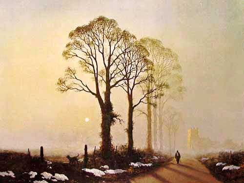 Winter Sunlight by Gerald Coulson