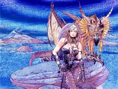 Drachenkönigin Bild