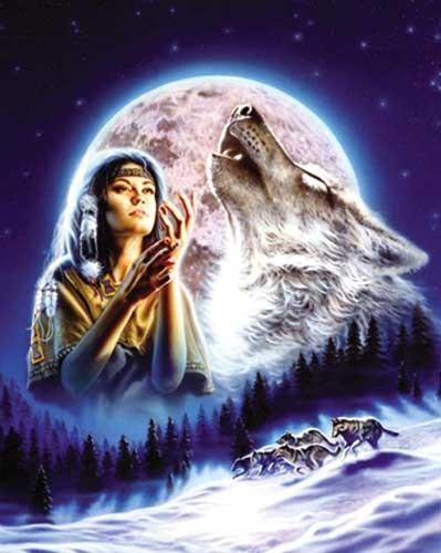Wolf Maiden by David Penfound