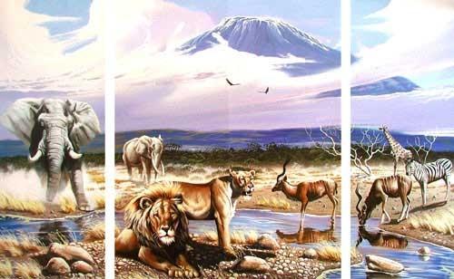 Spirit of Kilimanjaro by Gary Ampel