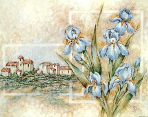 Iris in Toskana by Judi Kaufman *