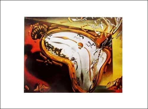Kunstdruck 50x70 cm: Les Montres Molles, Dali Salvador