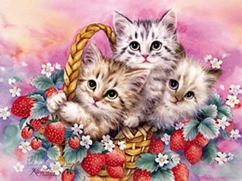 Strawberry Basket by Kayomi Harai