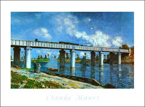 Il Ponte Della Ferrovia ad Argenteuie *