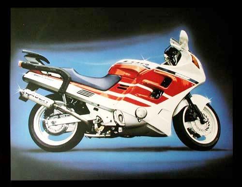 Honda CBR 1000 F Poster