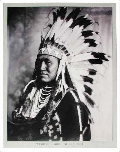 Washakie- Shoshone Sub Chief