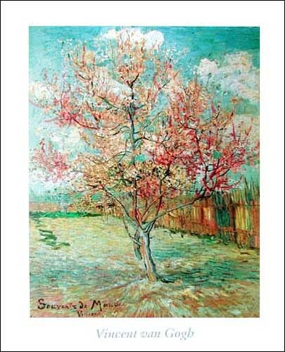 L`Arbe Fleuri, Peach Tree in Blossom *
