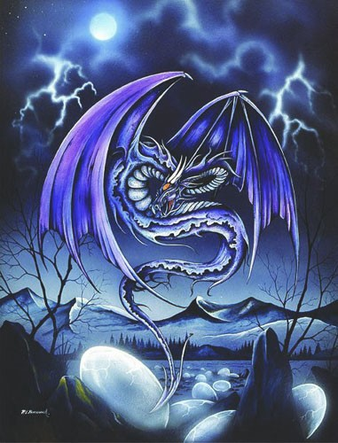 Rebirth Dragon - Drachenbild