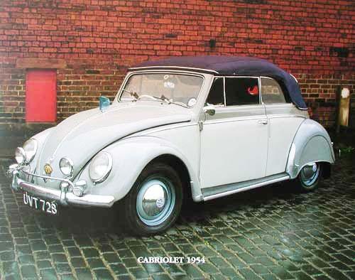 VW Cabriolet 1954