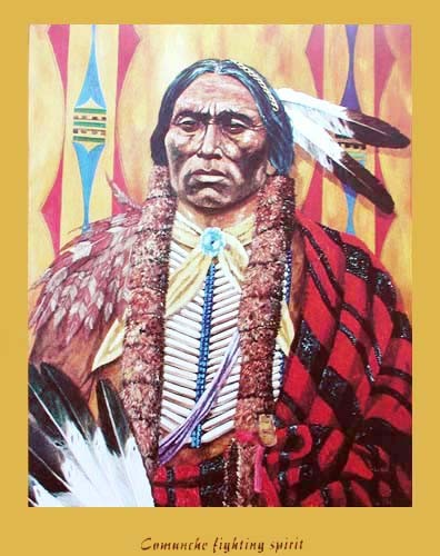 Comanche Fighting Spirit