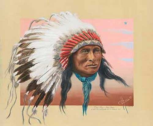 Indianer, One Star Sioux Brule