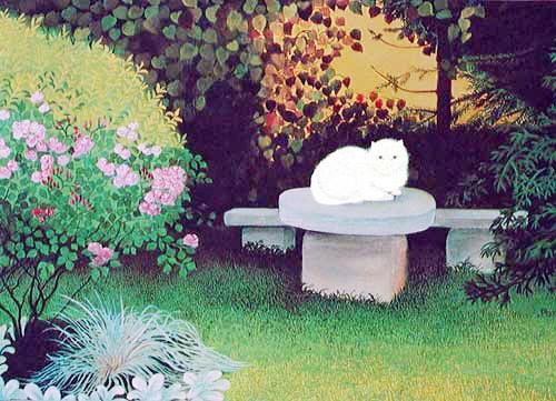 In der Gartenecke by Maria de Posz