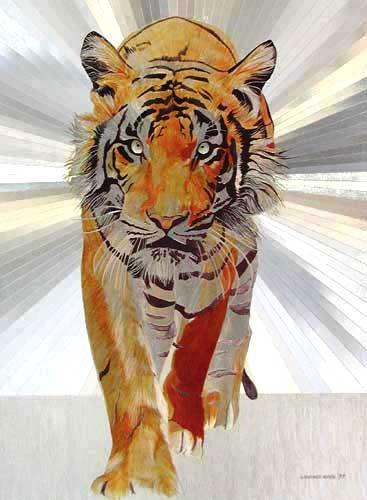 Tiger by Graeme Sims
