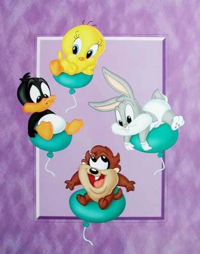Looney Tunes Babies Poster 40x50 cm