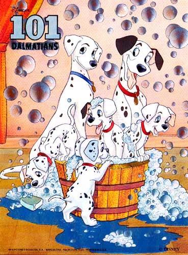 101 Dalmatiner Folien Bild