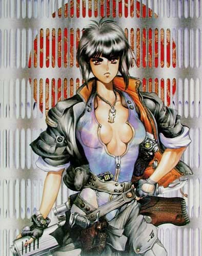 Ghost in the Shell I - Manga Poster von Shirow