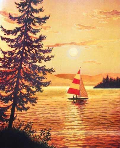 Sonnenuntergang by E. Stephens