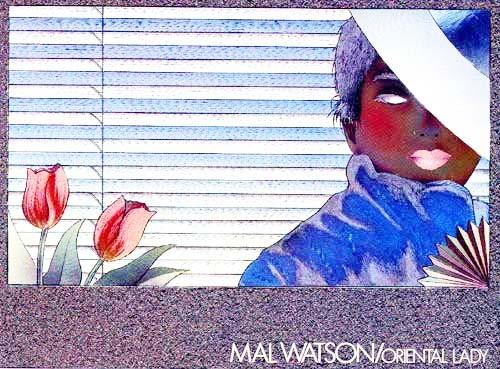 Oriental Lady by Mal Watson