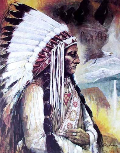 Sitting Bull by Ruanne Manning