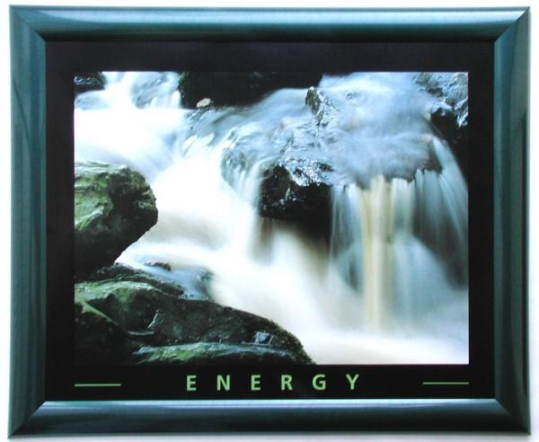 Wandbild Motivation Wasserfall Energie