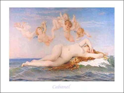 Naissance de Venus by Cabanel *