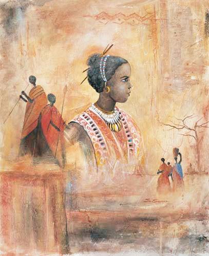 Afrikanische Kunst Bild