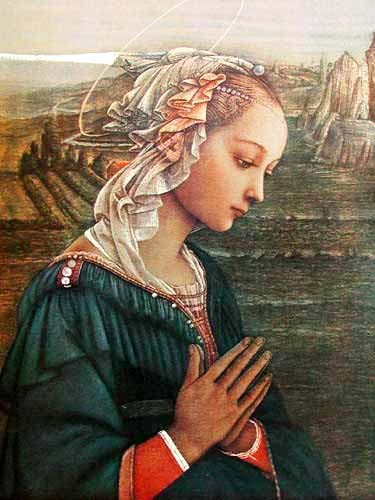 The Virgin by Fra Filippo Lippi
