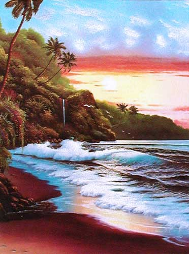 Sunset I by Lirette