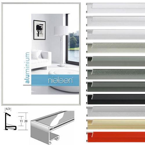 nielsen alurahmen 50x150 cm profilbreite 6 5 mm 11 farben. Black Bedroom Furniture Sets. Home Design Ideas