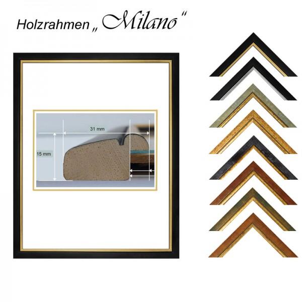 Holzrahmen 28x28 cm, Milano
