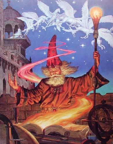 Merlin in the Night by Thomas Kidd