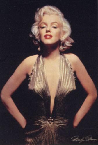 Monroe Marilyn, Gold