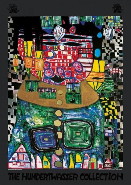 König der Antipoden- Hundertwasser