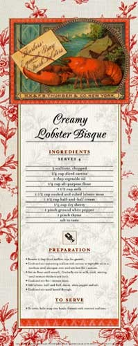 Creamy Lobster Bisque