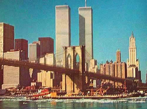 New York, WTC -Einzelstück Bild