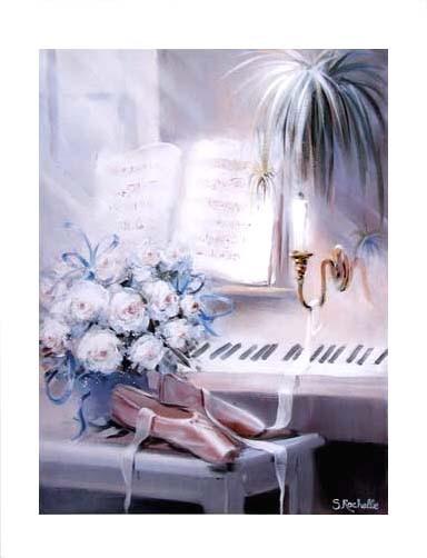 Klavier, Rosen und Ballettschuhe by S. Rachelle