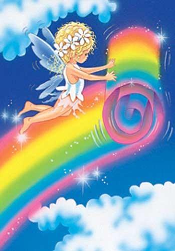 Rainbow Fairy Alu Effekt Bild