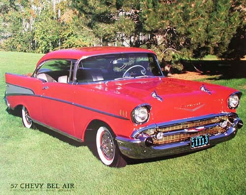 Chevrolet Bel Air 1957 by Brad Wagner