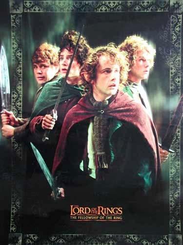 Der Herr der Ringe Poster