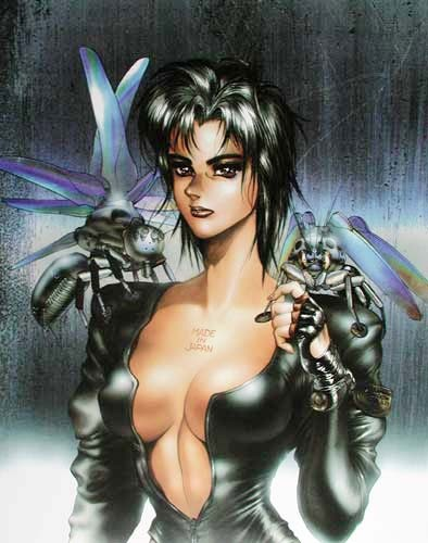 Ghost in the Shell IV - Manga Poster von Shirow