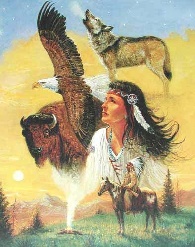 Tribal Memories by Marianne Caroselli