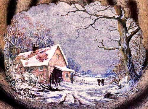 Winter Alu Bild, Vokes