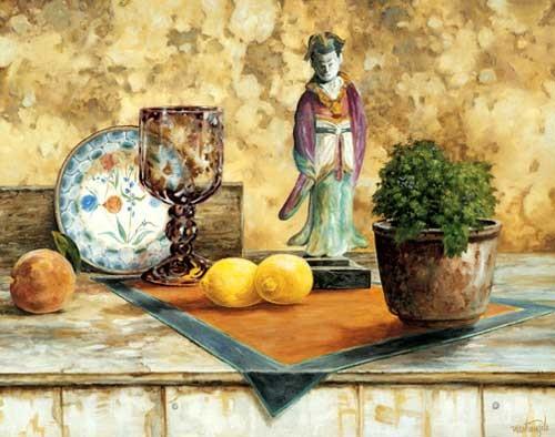 Stilleben mit Citronen