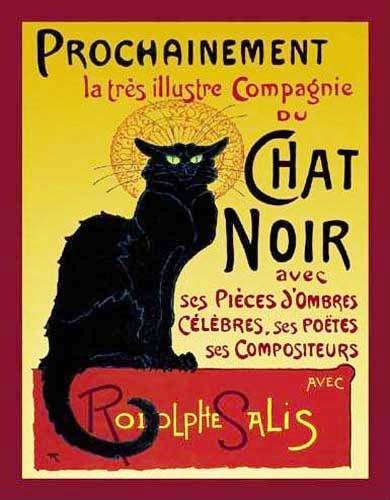 Le Chat Noir Poster