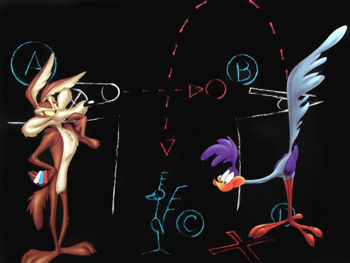 Looney Tunes, Wille E. Coyote & Road Runner