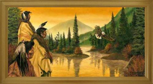 Indianer, Adler, J.T. Vogtschmidt