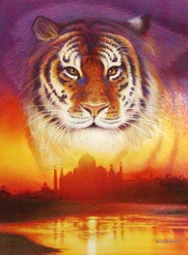 Tiger Fantasie, Penfound Bild