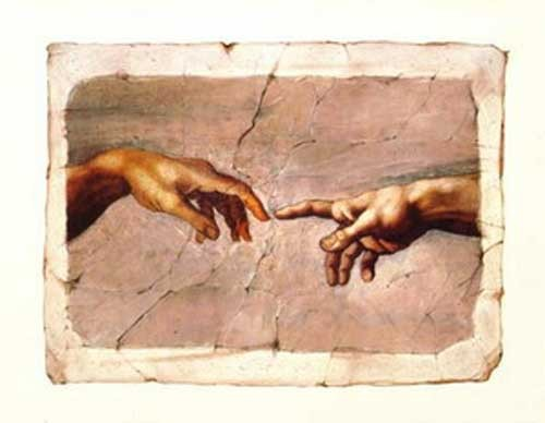 Creation of Adam, Detail *