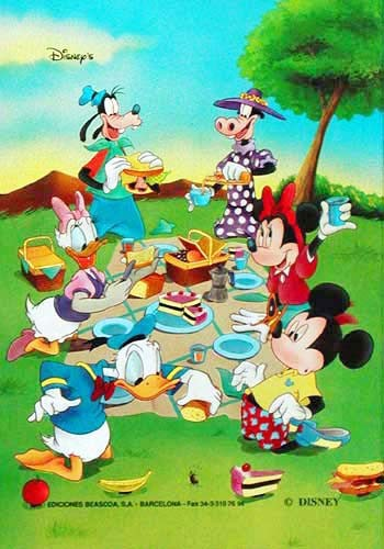 Disney Babys -Picknick Bild